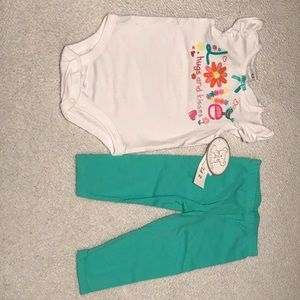 Baby girl LOVE 2 piece set